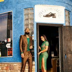 black love nipsey hussle and lauren london standing in the doorway of a store Black Love Couples, Cute Couples Goals, Couple Goals, Dope Couples, Cutest Couples, Family Goals, Couple Style, Couple Art, Cute Relationship Goals