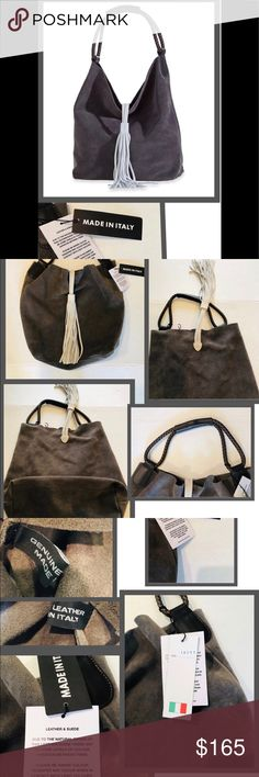 073824b1ca7 Made in Italy bucket bag Beautiful 100% genuine leather suede bucket bag  handcrafted by. Poshmark