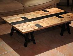 Table basse Décoration,caisse à vin