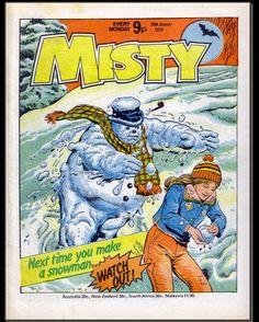 Misty Comic