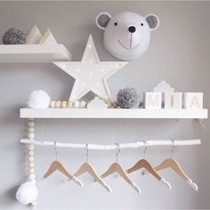 Kids' Decoration Trends: Ornamental Light up Letters - Petit & Small