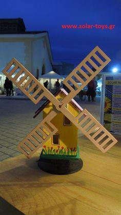Ηλιακός ανεμόμυλος (solar windmill) από την έκθεση The Meet Market, στην Τεχνόπολη, Γκάζι, στις 11&12 Νοεμβρίου...