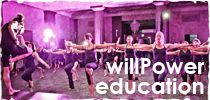 WillPower & Grace - the benefits of cardio-sculpt; the intensity of boot-camp; the self awareness of a yoga practice; the discipline of Pilates; the uplifting philosophy of a meditation session