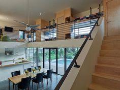 Srygley Pool House in Springdale, Arizone by Marlon Blackwell Architect via @homedsgn