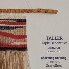 """106 Me gusta, 8 comentarios - Edurne (@artilez_tejiendo_emociones) en Instagram: """"~ TALLER TAPIZ DECORATIVO ~ Vuelvo a mis quehaceres queridas 🥰 Esta vez en la tiendita de Carmina…"""" Friendship Bracelets, Knitting, Instagram, Jewelry, Tapestries, Weaving Looms, Atelier, Tejidos, Jewlery"""