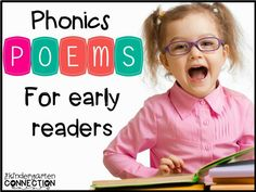 Learn about phonics poems and poetry notebooks for early readers, and grab a few freebies!