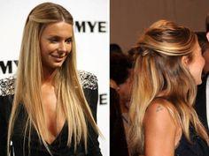 Beleza de Corpo Inteiro: Penteados - cabelos soltos