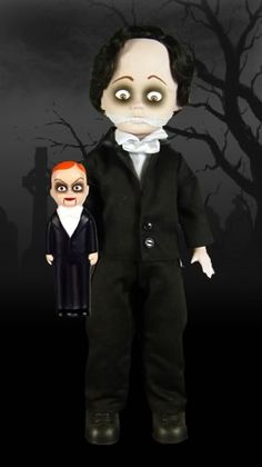GreGORY (he has a bloody stump that the ventriloquist dummy sticks onto) my friend from Germany sent me him. I love him!