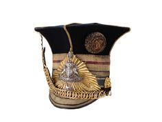 AN OFFICER'S LANCE CAP OR CZAPKA, 12TH (THE PRINCE OF WALES'S ROYAL) LANCERS, 1846-55.