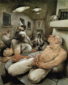 A Night That Never Ends by Peter Howson