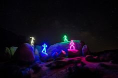 Adult LED stickman costume from Glowy Zoey & Royce Hutain (rhutain) on Pinterest