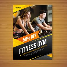 Graphic Design Services - Hire a Graphic Designer Today Brochure Cover, Brochure Design, Brochure Template, Brochure Ideas, Creative Poster Design, Creative Posters, Gym Banner, Fitness Flyer, Gym Fitness