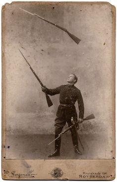 Juggling Rifles