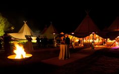 Case study for Tipi Wedding for 250 guests