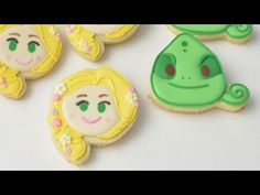 RAPUNZEL, PASCAL COOKIES from TANGLED, HANIELA'S - YouTube