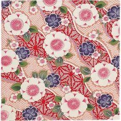 Japanese Textiles, Japanese Patterns, Japanese Paper, Japanese Fabric, Cute Flower Drawing, Blue And White Fabric, Asian Furniture, Kimono Pattern, Oriental Pattern