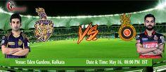 IPL 2016: Kolkata Knight Riders spin attack Vs Royal Challengers Bangalore most explosive batting outfit #IPL #IPL2016 #IPLT20 #VIVOIPL #KKRvRCB