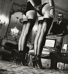 Robert Doisneau, Richard Avedon, Sandro, Helmut Newton Women, Most Popular Image, Photo Engraving, Thing 1, Famous Photographers, Black Stockings