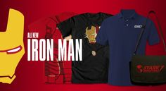 NEW and Awesome Iron Man Designs @WeLoveFine shop. I would really loooove to win one of these