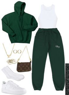 Swag Outfits For Girls, Cute Swag Outfits, Cute Comfy Outfits, Mode Outfits, Retro Outfits, Stylish Outfits, Mode Kpop, Baddie Outfits Casual, Elegantes Outfit