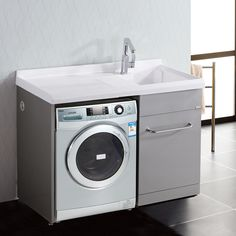 1000 images about badkamer on pinterest washing for Bathroom designs with washing machine