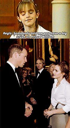 Emma Watson Meeting Her Crush.