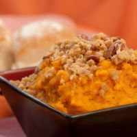 Homemade Sweet Potato Soufle - I reduce sugar by 1/cup