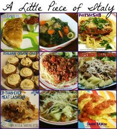 A Little Piece of Italy - 9 #Italian #recipes from breakfast to dessert | www.fantasticalsharing.com