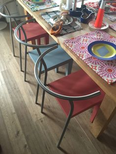 "Starck ""Dr. Glob"" chairs ;-)"