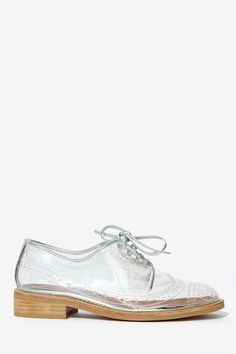 The Daily Find: Normally only bags but these Jeffrey Campbell Townsend Transparent shoes were too cool not to share