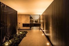 Futuristic Wooden Cladding for Exterior Walls as an Element of privacy, comfort and security ~ Art Facade ➧ Projects, materials, decor ➧ House Images Wood Cladding Exterior, Wooden Cladding, Wall Exterior, Exterior Design, Dona Carolina, Building A Container Home, Exposed Concrete, Architect House, Architecture Design