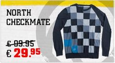 De North checkmate is een dunne pullover