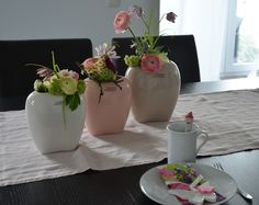 Pastelltöne im Frühling für die Kaffeetafel - www.tiziano-shop.com