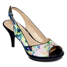 9 & Co.® Kyoko Slingback Pumps found at JCPenney. These are cute!