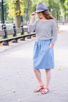 Everyday Skirt Sewing Pattern | Shop | Oliver + S
