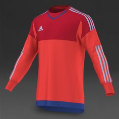 9b0604f75 adidas Junior Onore 15 GK Jersey - Bright Red/Scarlet/Clear Sky/Bold Blue