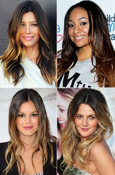 ombre. I've already decided this will be my new year gift to myself!