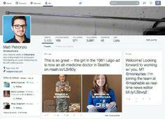 Twitter teste un nouveau design de profil à la Facebook ?? #twitter #facebook