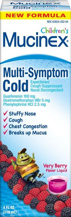 Children's Mucinex® Multi-Symptom Cold « The Cherry Mama