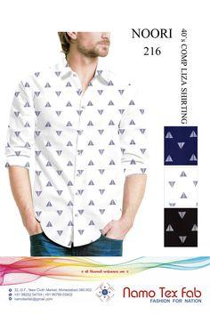 Mens Printed Shirts, Camisa Formal, Men Shirt, Shirt Print, New Model, Collar Shirts, Shirt Style, Printing On Fabric, Shirt Designs