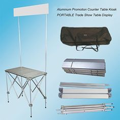 Portable Trade Show Table Display Booth Promotion Counter Kiosk Banner Stand, http://www.amazon.com/dp/B010GXLKNQ/ref=cm_sw_r_pi_awdm_MvVexb17EBMY9