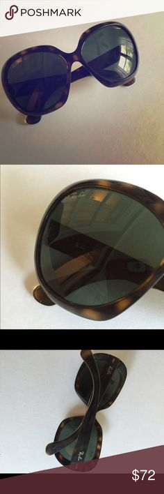 Ray-ban sunglasses Jackie ohh tortoise w/ case Worn a lot. I love these sunglasses but, need to get rid of some stuff. ✅I accept any and all reasonable offers. ❌no trades, just looking to sell. 👗👡👠bundle and save!!! Ray-Ban Accessories Sunglasses