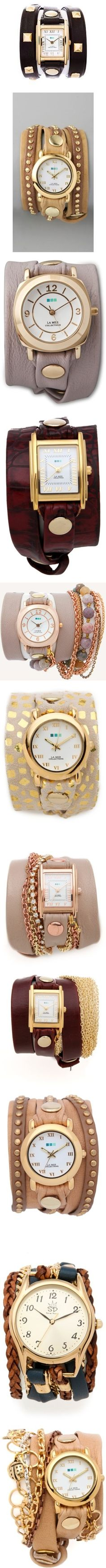 LOLO MODA: Trendy Watches - See more styles on 9999lolo.blogspot.com