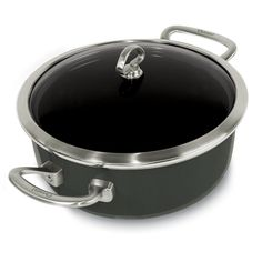 Chantal Copper Fusion 4-Quart Covered Risotto Pan, Onyx *** Hurry! Check out this great product : Chef's Pans