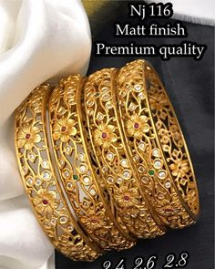Watsapp to order 8088061559 (fast reply) Or dm Online payment only World Wide extra shipping charges Free s Gold Bangles Design, Gold Jewellery Design, White Gold Jewelry, Necklace Designs, Indian Jewelry, Fashion Jewelry, Free Shipping, Siri, Bengal