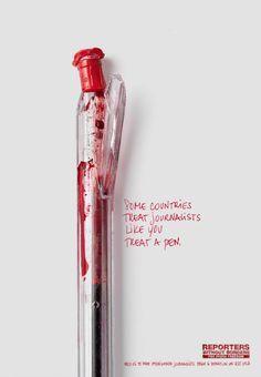 Certains pays traitent les journalistes comme vous traiterez un stylo