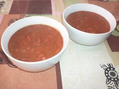 A delicious Sousboontjies recipe that can be translated to read: Sweet Sauce Beans recipe. Vegan Lunch Recipes, Bean Recipes, Vinegar Uses, Sweet Sauce, Coconut Oil, Soup, Yummy Food, Ethnic Recipes, Uses Of Vinegar