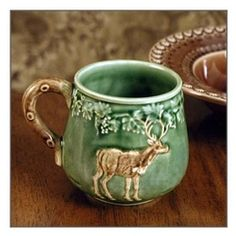 CE Corey Animals Deer Mugs