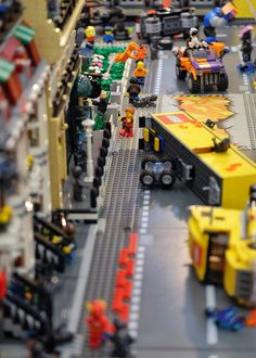 chaos in lego town