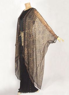 Ensemble Mariano Fortuny Vintage Textile - OMG that dress!